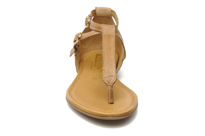 Sandalen Pikolinos Formentera 7350N beige schuhe getragen