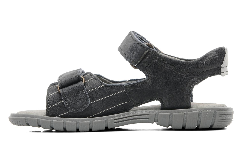 Sandales et nu-pieds Minibel Georges Gris vue face