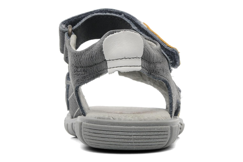 Sandales et nu-pieds Minibel Georges Gris vue droite
