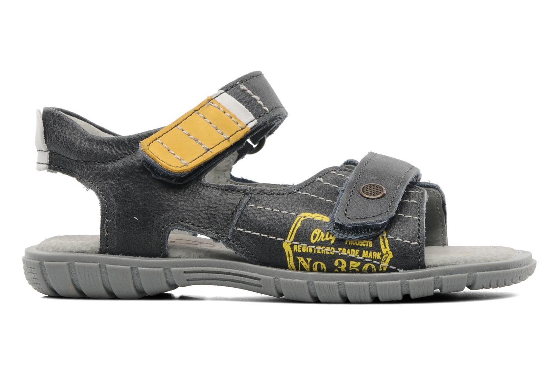 Sandales et nu-pieds Minibel Georges Gris vue derrière