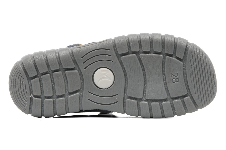Sandales et nu-pieds Minibel Georges Gris vue haut