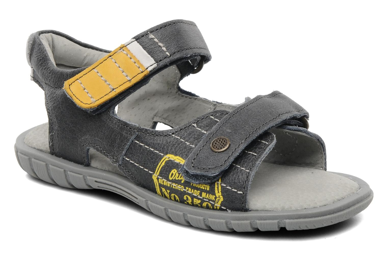 Sandales et nu-pieds Minibel Georges Gris vue détail/paire