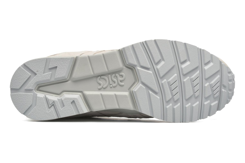 Baskets Asics Gel-Lyte V Blanc vue haut