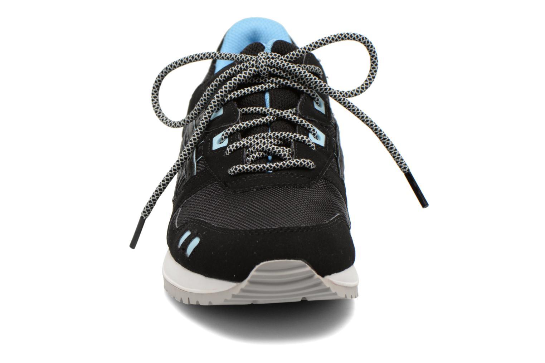 Sneaker Asics Gel-Lyte III W schwarz schuhe getragen