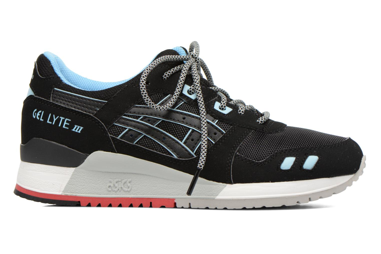 Sneaker Asics Gel-Lyte III W schwarz ansicht von hinten