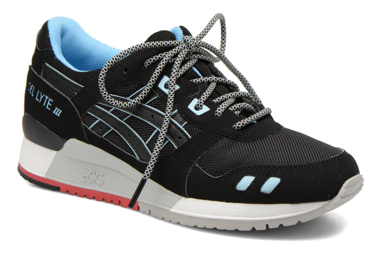 Sneaker Asics Gel-Lyte III W schwarz detaillierte ansicht/modell