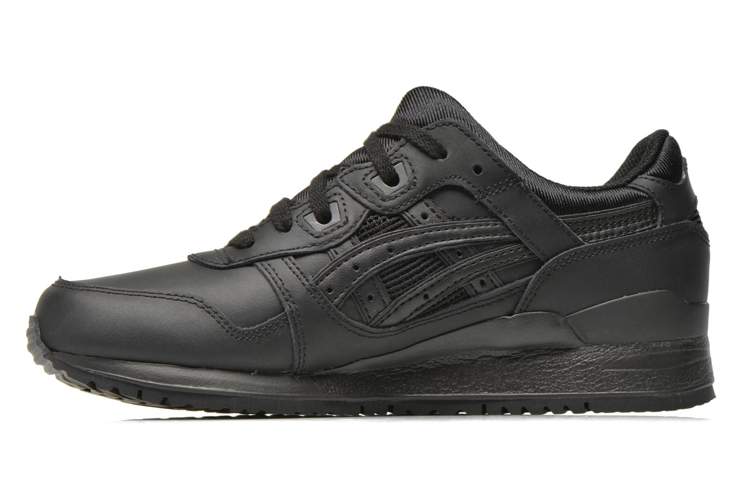 Trainers Asics Gel-Lyte III W Black front view