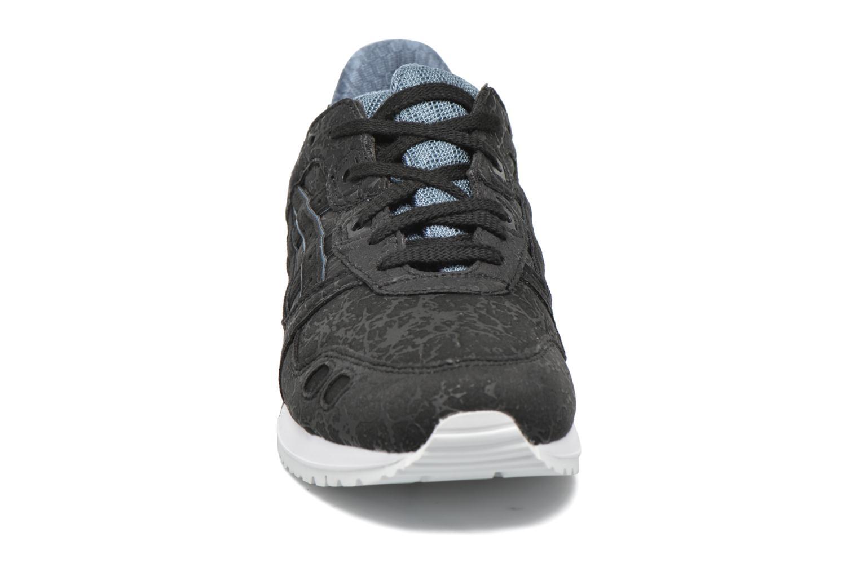 Baskets Asics Gel-Lyte III W Noir vue portées chaussures