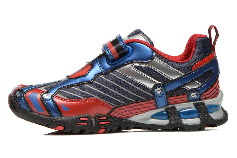 Sneakers Geox J LT ECLIPSE A Blauw voorkant