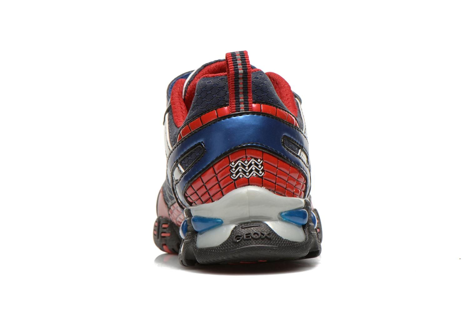 Trainers Geox J LT ECLIPSE A Blue view from the right