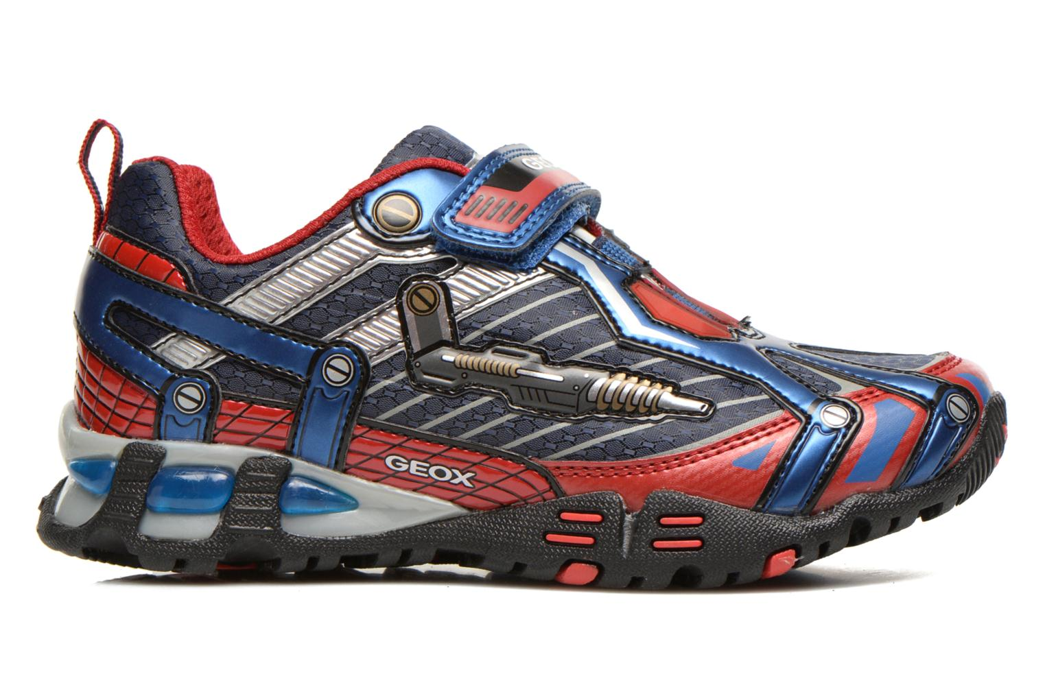 Trainers Geox J LT ECLIPSE A Blue back view