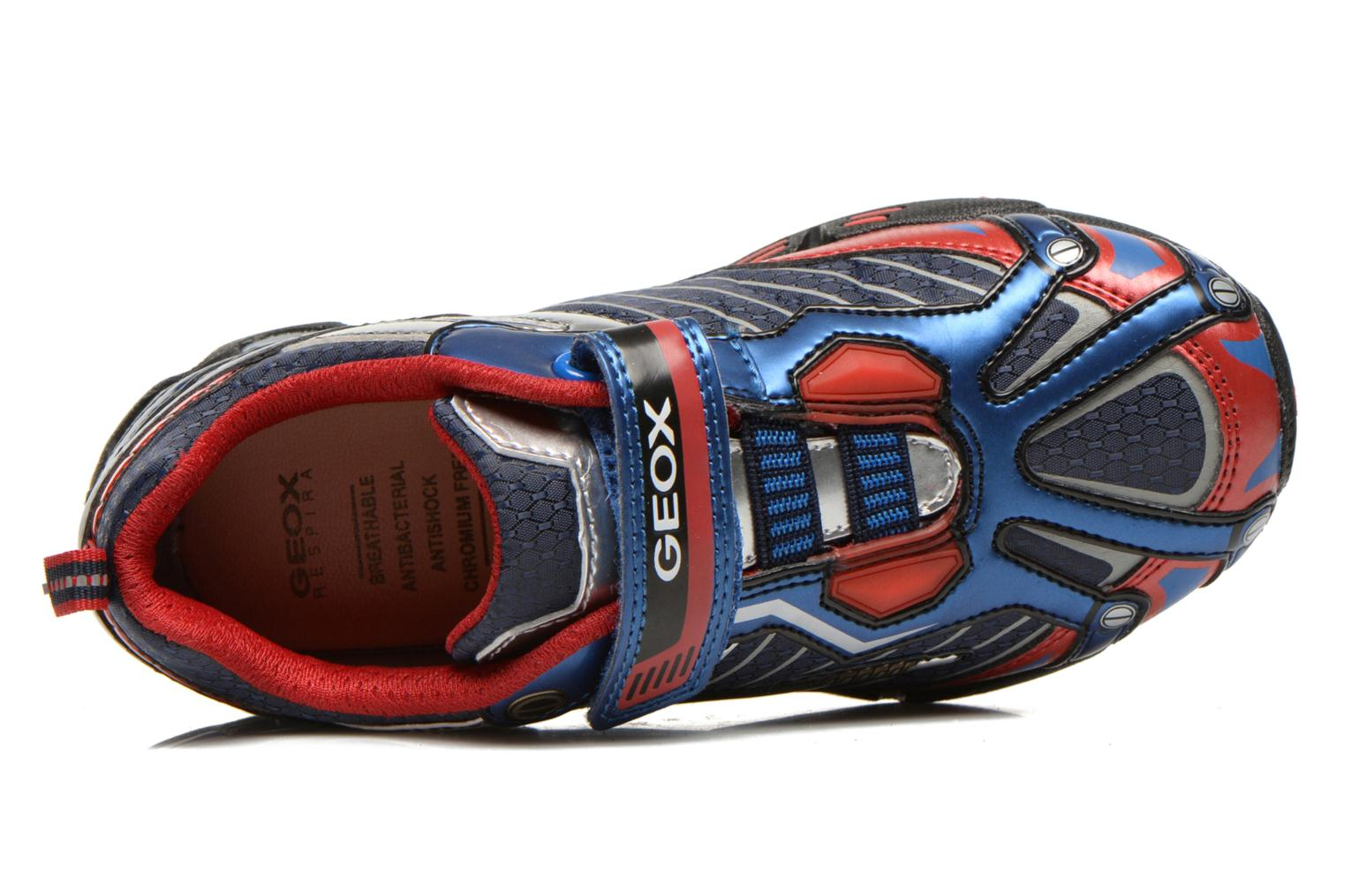 Trainers Geox J LT ECLIPSE A Blue view from the left