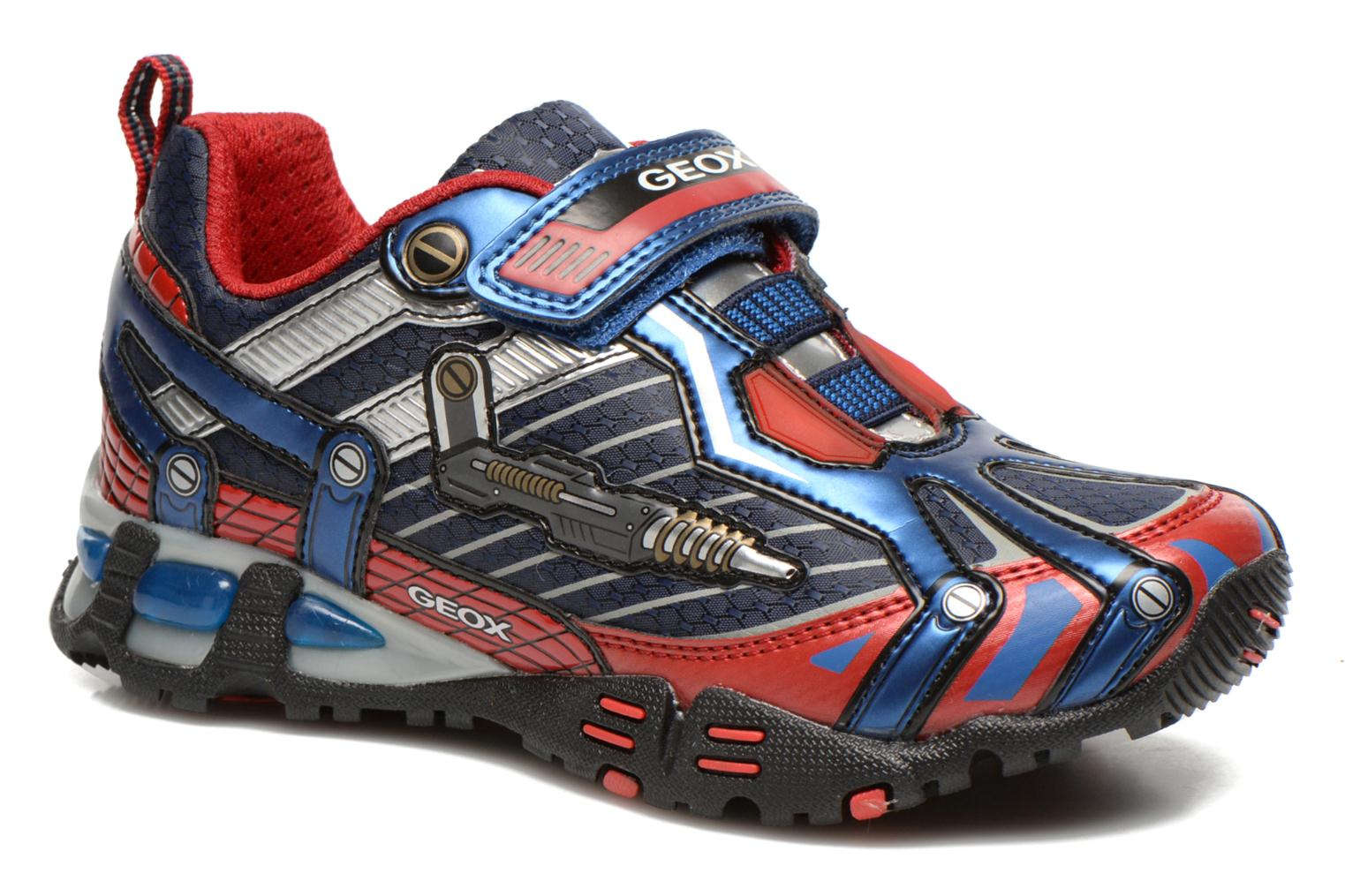 Trainers Geox J LT ECLIPSE A Blue detailed view/ Pair view