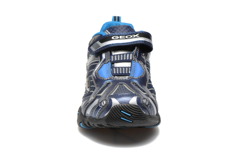 Baskets Geox J LT ECLIPSE A Bleu vue portées chaussures