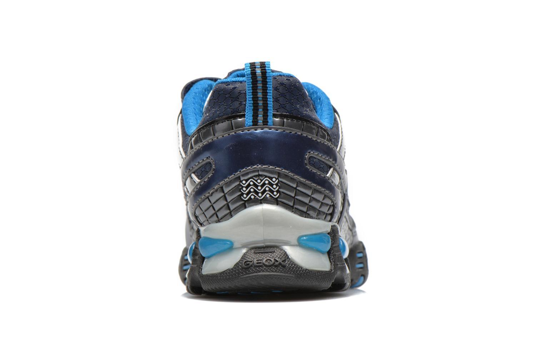 Baskets Geox J LT ECLIPSE A Bleu vue droite