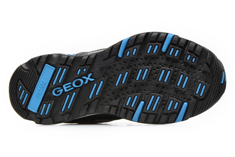 Baskets Geox J LT ECLIPSE A Bleu vue haut