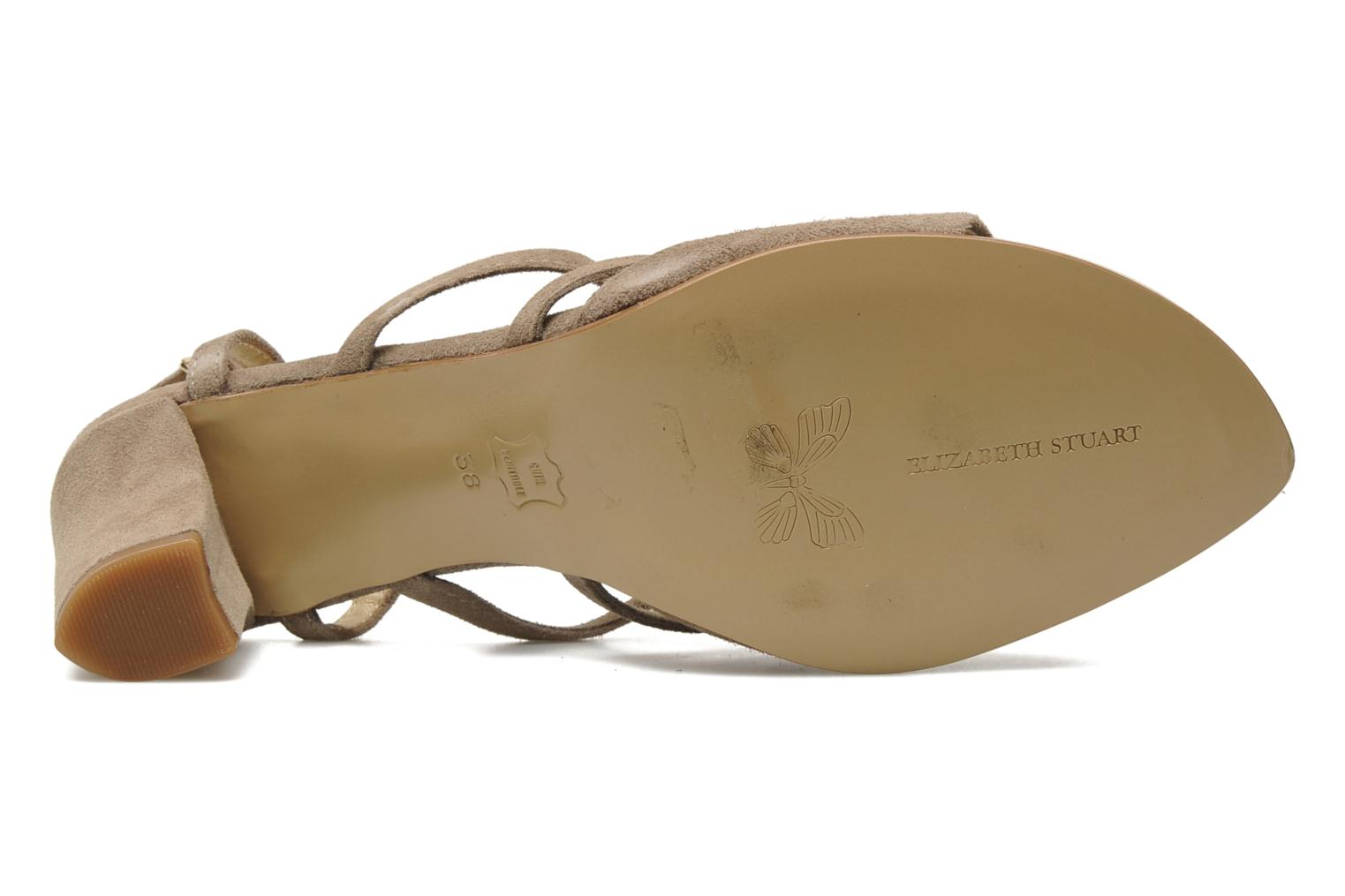 Sandals Elizabeth Stuart Bamby 300 Beige view from above