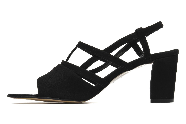 Sandals Elizabeth Stuart Bamby 300 Black front view