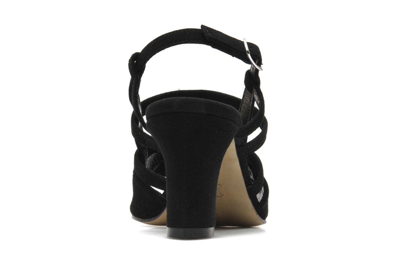 Sandales et nu-pieds Elizabeth Stuart Bamby 300 Noir vue droite
