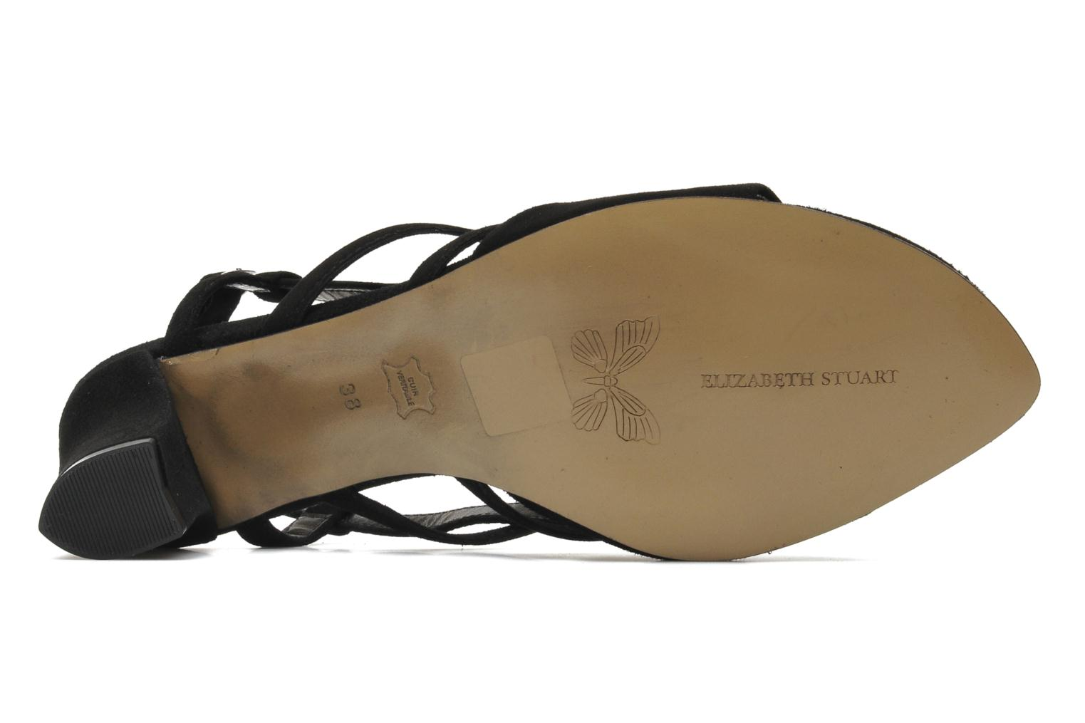 Sandals Elizabeth Stuart Bamby 300 Black view from above