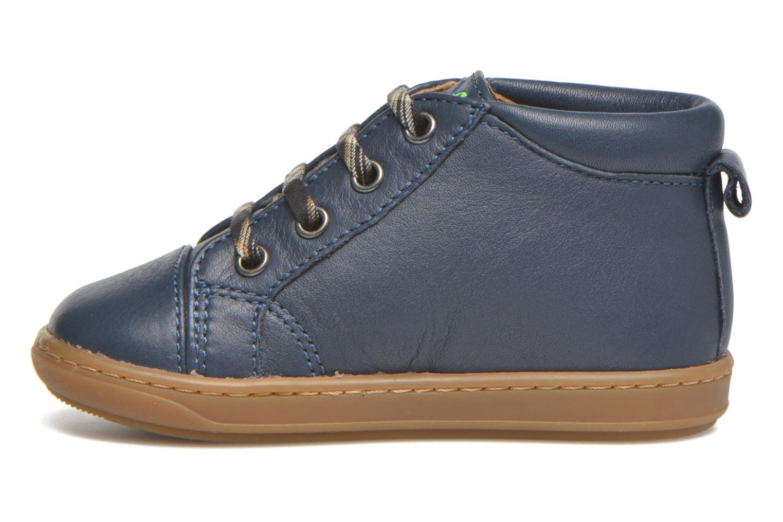 Bottines et boots Shoo Pom Bouba Pad Lace Bleu vue face