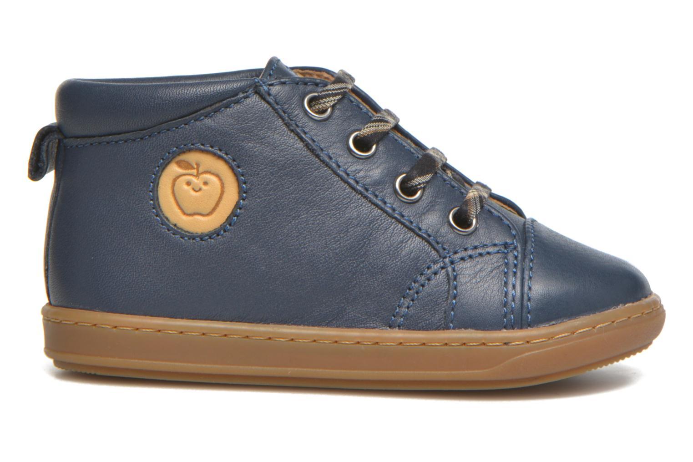 Ankle boots Shoo Pom Bouba Pad Lace Blue back view