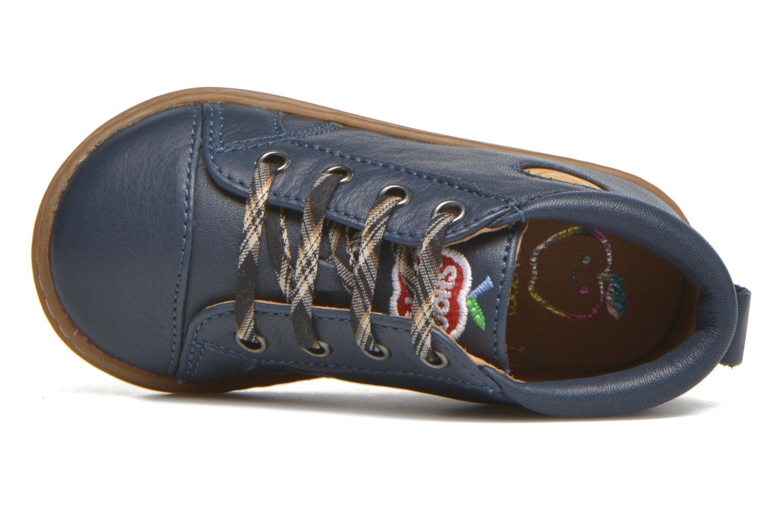 Bottines et boots Shoo Pom Bouba Pad Lace Bleu vue gauche