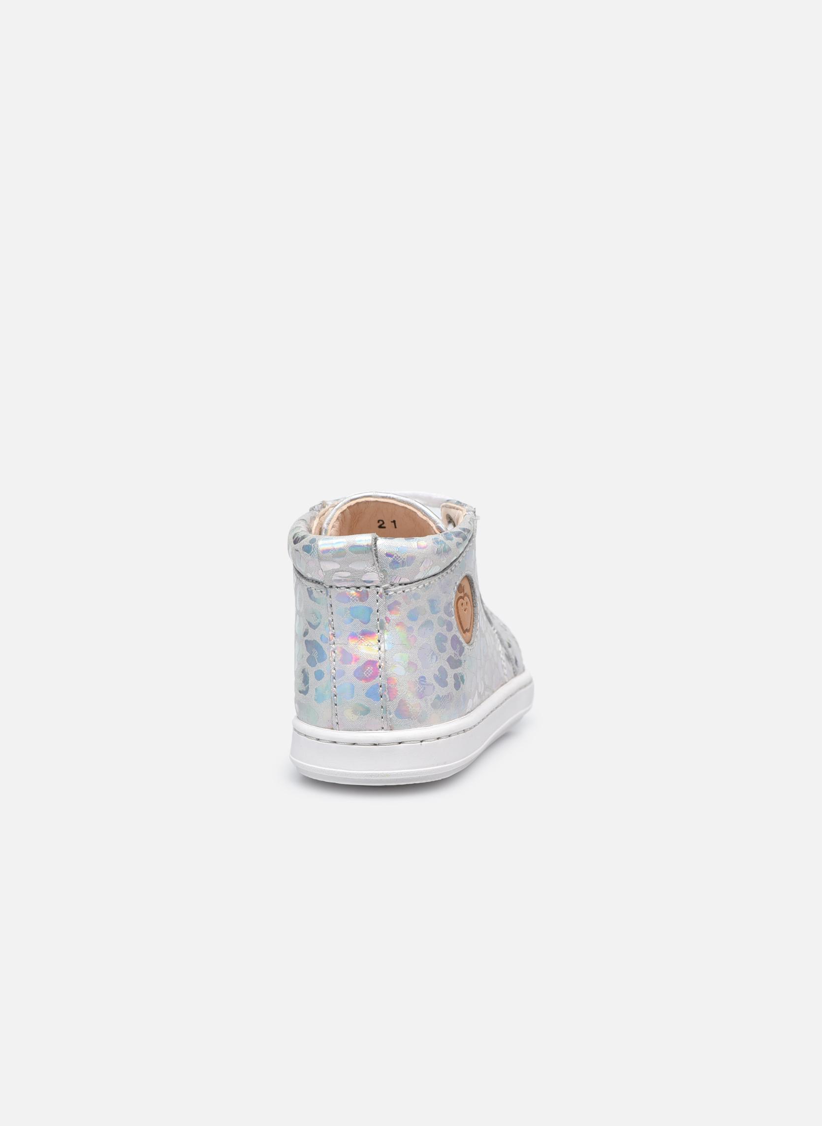 Stiefeletten & Boots Shoo Pom Bouba Pad Lace silber ansicht von rechts
