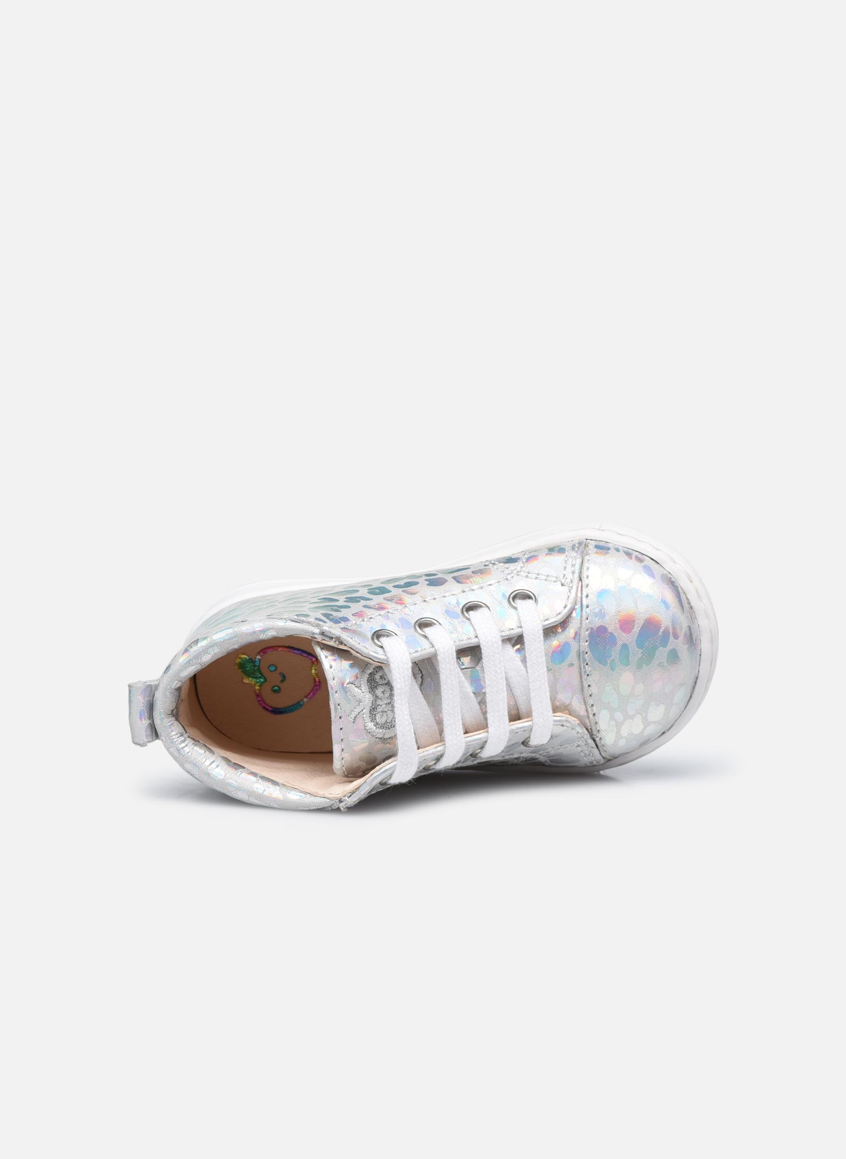 Stiefeletten & Boots Shoo Pom Bouba Pad Lace silber ansicht von links