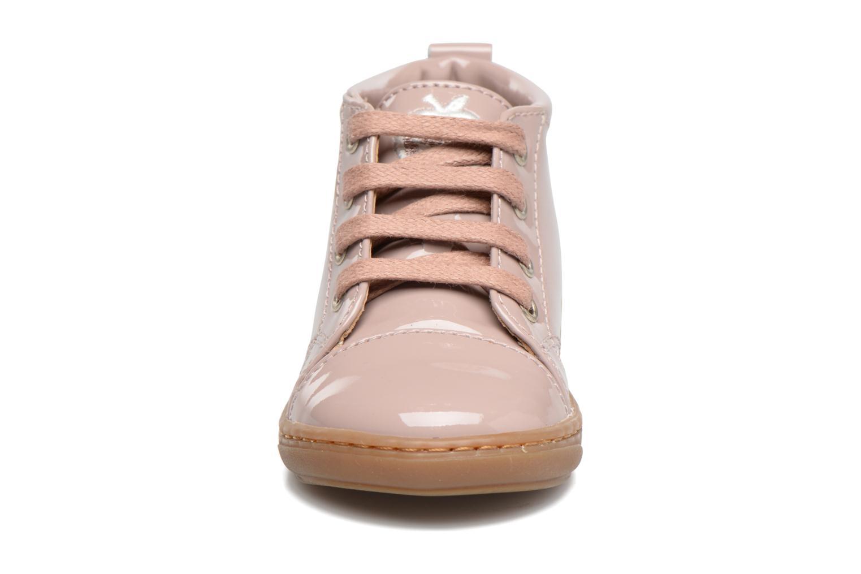 Stiefeletten & Boots Shoo Pom Bouba Pad Lace rosa schuhe getragen