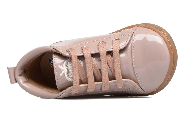 Stiefeletten & Boots Shoo Pom Bouba Pad Lace rosa ansicht von links
