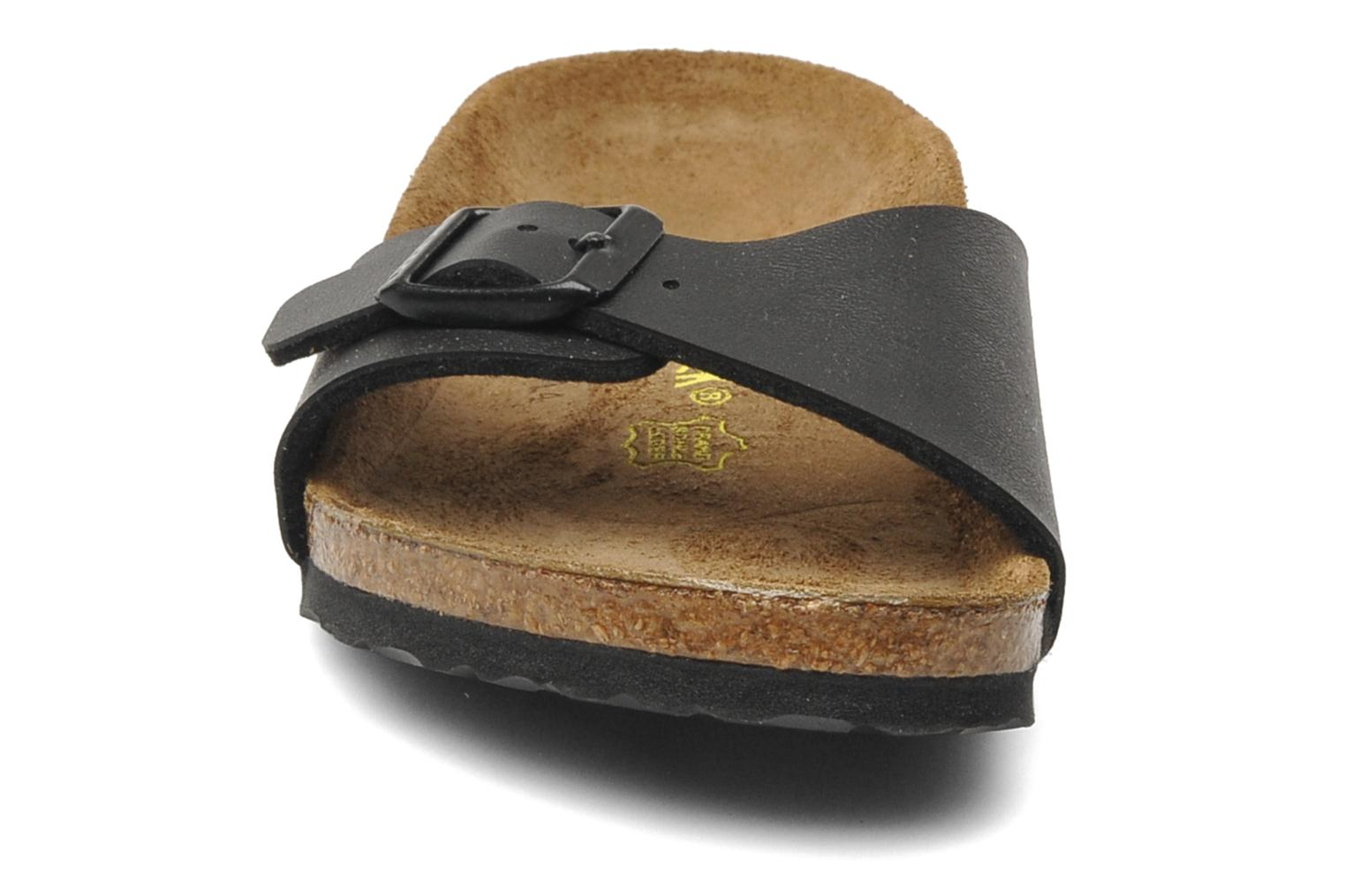 Sandals Birkenstock Madrid Birko Flor Black model view