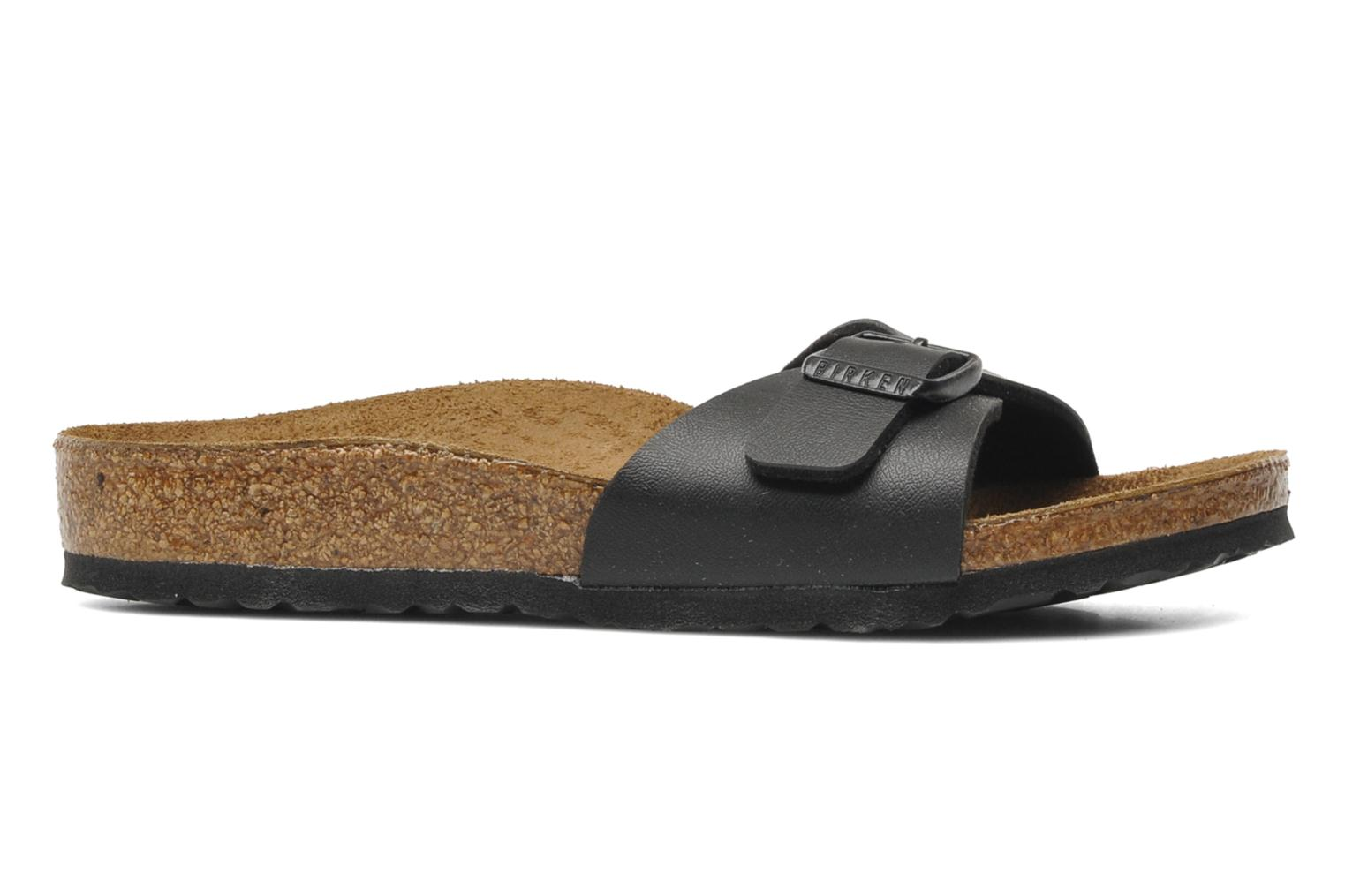 Sandals Birkenstock Madrid Birko Flor Black back view
