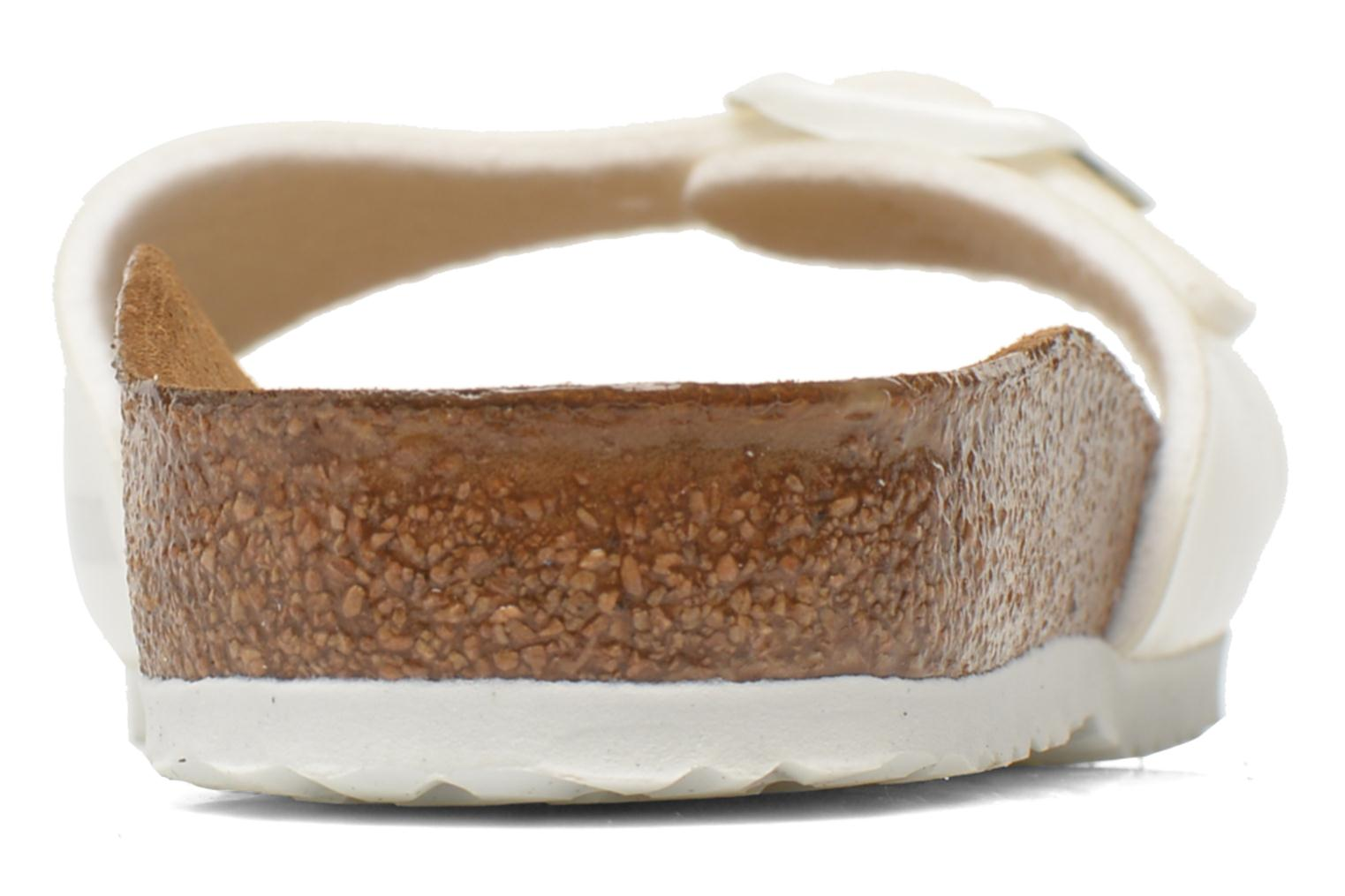 Sandals Birkenstock Madrid Birko Flor White view from the right