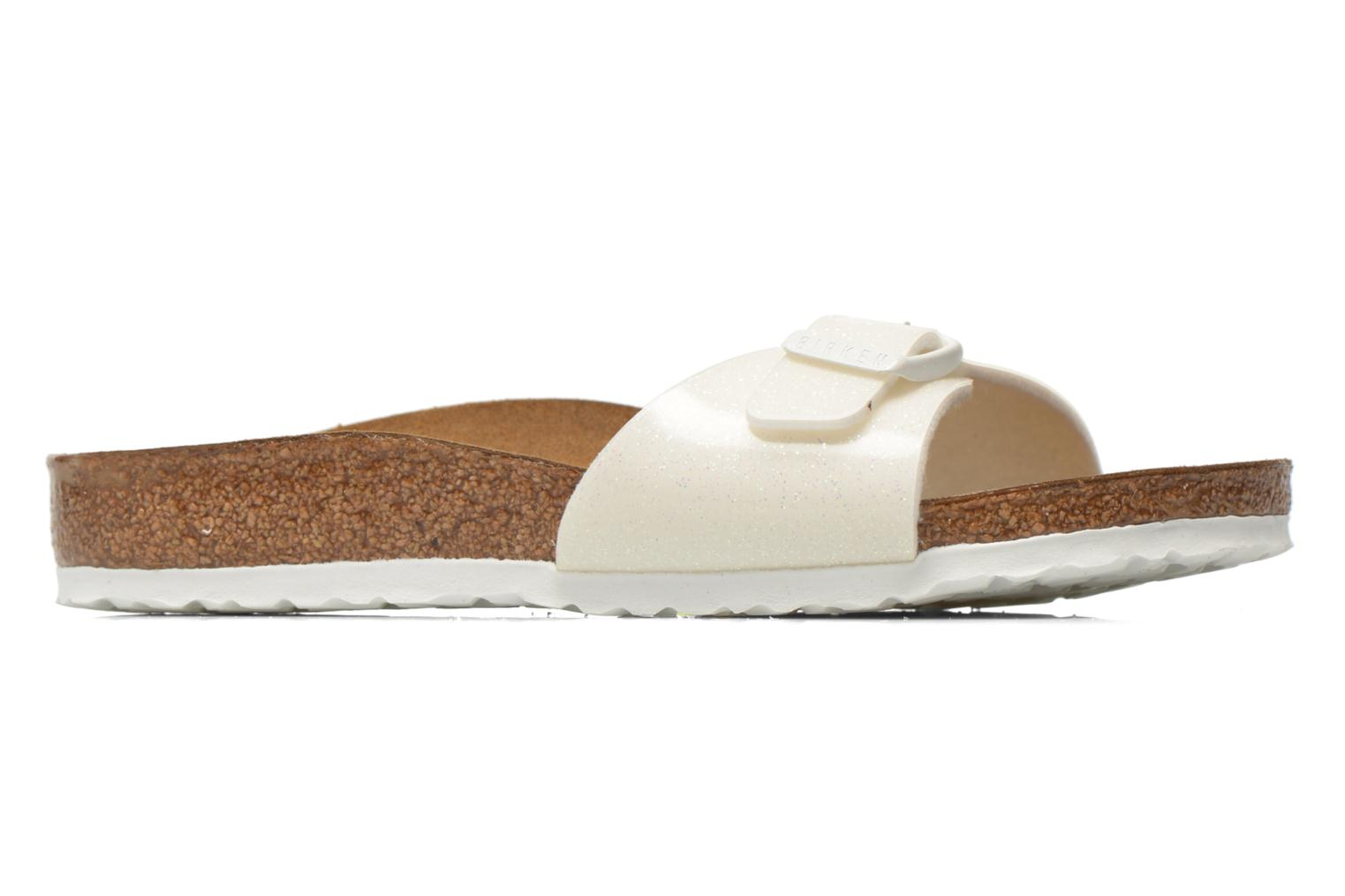 Sandals Birkenstock Madrid Birko Flor White back view