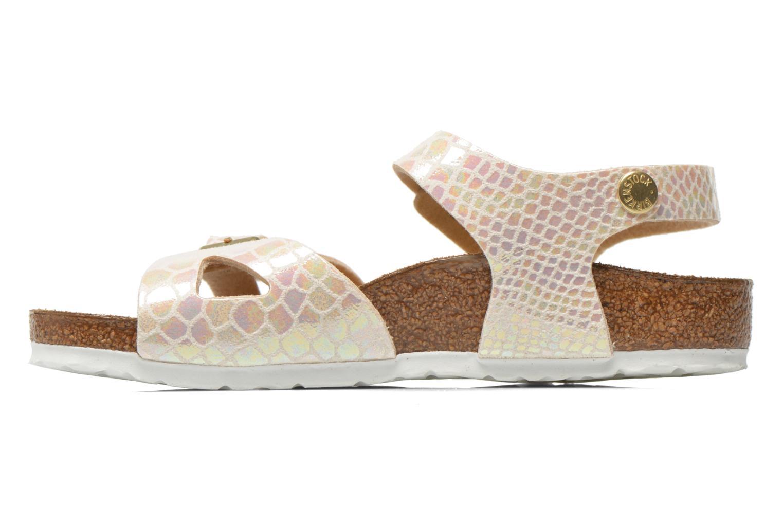 Sandales et nu-pieds Birkenstock Rio Birko Flor Multicolore vue face