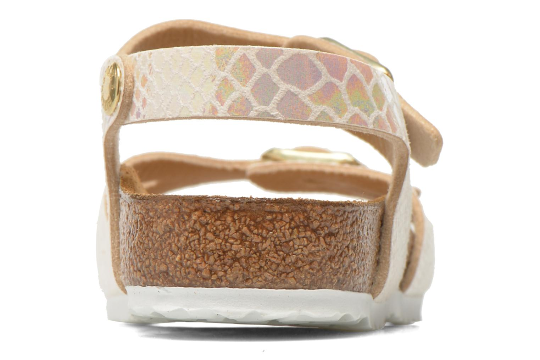 Sandales et nu-pieds Birkenstock Rio Birko Flor Multicolore vue droite