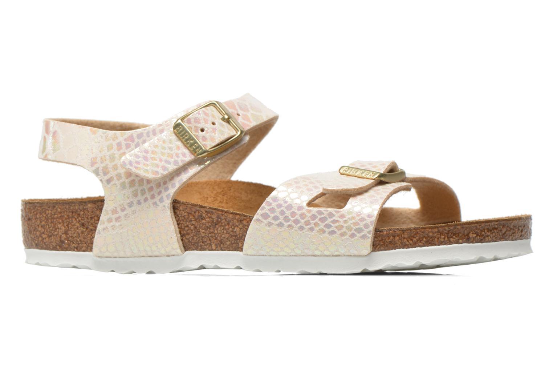 Sandales et nu-pieds Birkenstock Rio Birko Flor Multicolore vue derrière