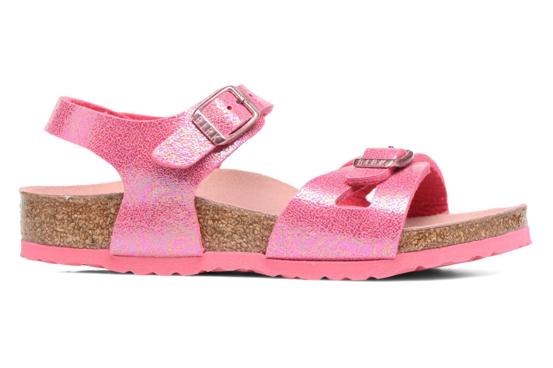 Sandals Birkenstock Rio Birko Flor Pink back view