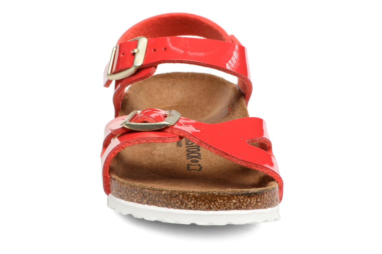 Sandaler Birkenstock Rio Birko Flor Rød se skoene på