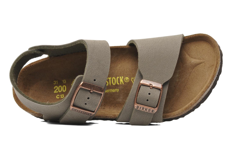 Sandales et nu-pieds Birkenstock New York Birko Flor Gris vue gauche