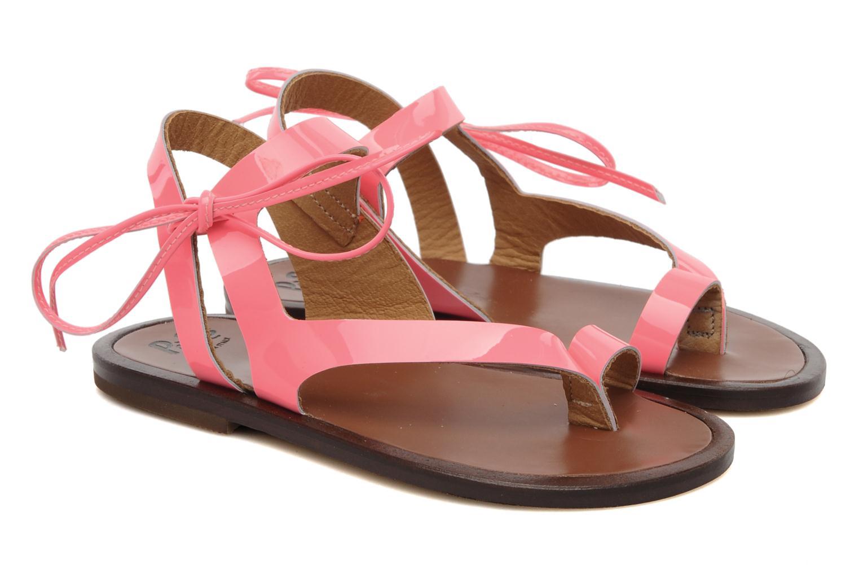 Sandales et nu-pieds PèPè Blog Rose vue 3/4