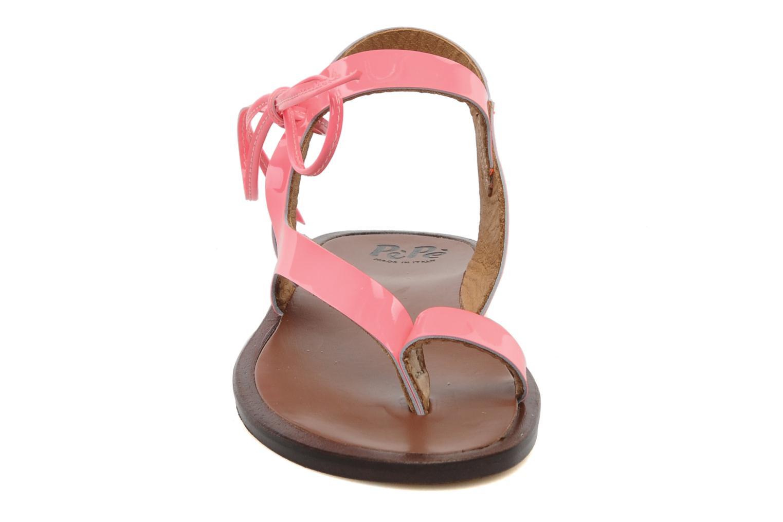 Sandalen PèPè Blog rosa schuhe getragen