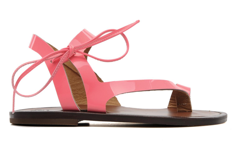 Sandales et nu-pieds PèPè Blog Rose vue derrière