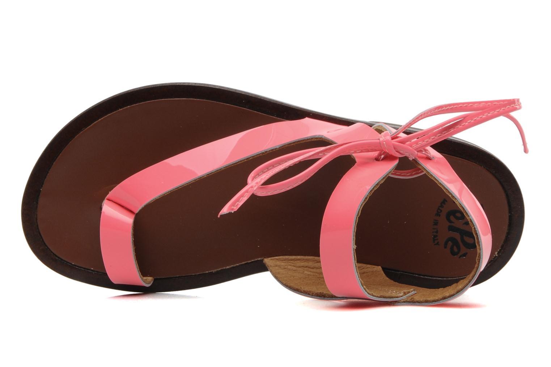 Sandales et nu-pieds PèPè Blog Rose vue gauche