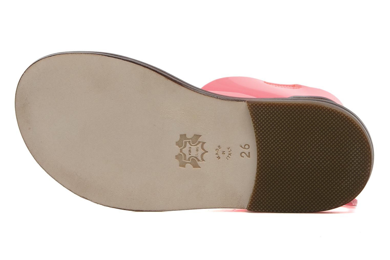 Sandales et nu-pieds PèPè Blog Rose vue haut