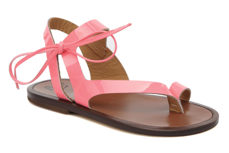 Sandales et nu-pieds PèPè Blog Rose vue détail/paire