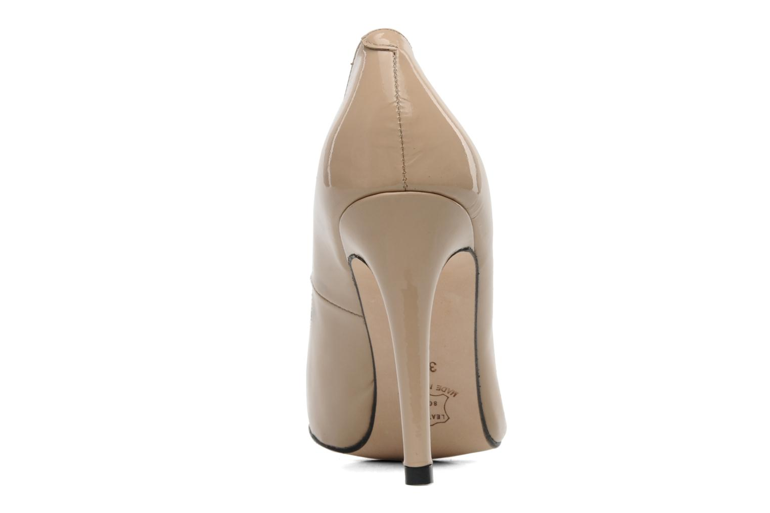 High heels Georgia Rose Armelle Beige view from the right