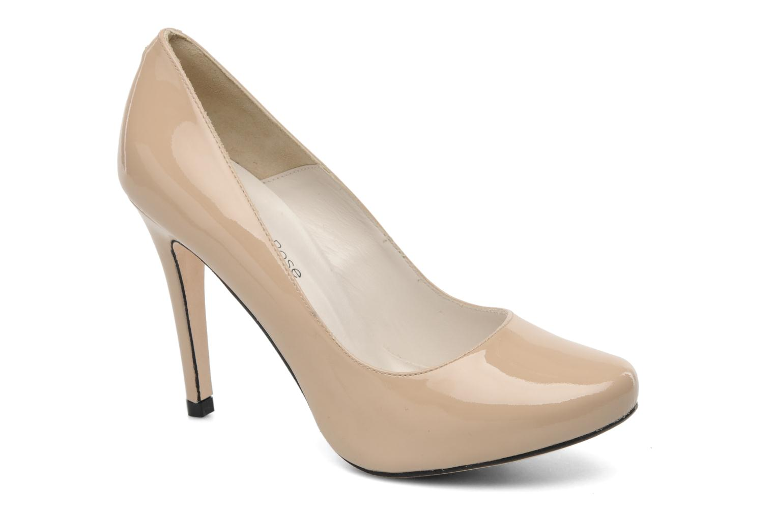 High heels Georgia Rose Armelle Beige detailed view/ Pair view