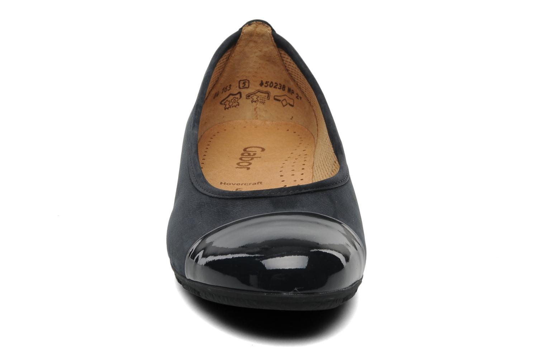 Ballerines Gabor Selba ballerina Noir vue portées chaussures